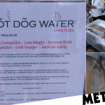 Someone Has Been Selling Hot Dog Water For £21 To Prove People Will Buy Anything photo