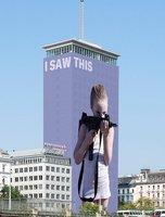 Wiener Ringturm: Helnwein: I Saw This photo