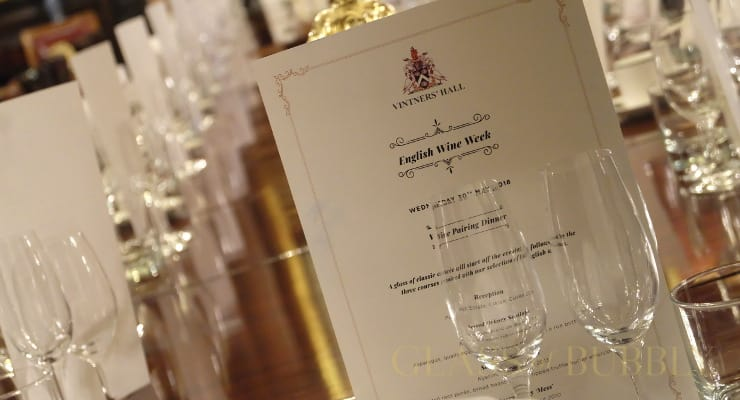 English Sparkling Wine Pairing Dinner Chez Vintners' Hall With Searcys photo