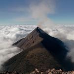 Massive Volcano Erupts In Guatemala's Coffee Fields photo
