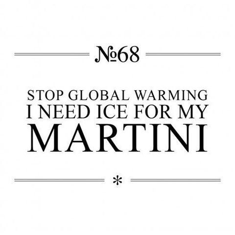 globalwarming Martini Quotes To Live By