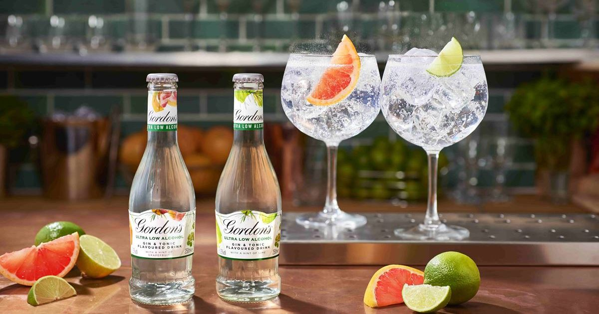 Gordon's Release 'ultra Low Alcohol' Gin And Tonic photo