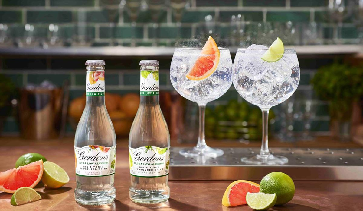 Gordon's Launches Ultra-low Alcohol Flavoured Gin & Tonic photo