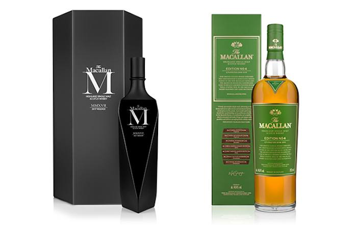 """The Macallan Adds New M """"black"""" Decanter And Edition No. 4 Whiskies photo"""