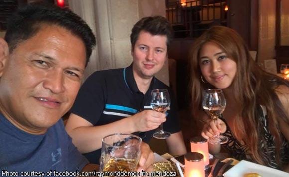 Pinoy Pride! Raymond Mendoza Spot Local Rum In Paris photo