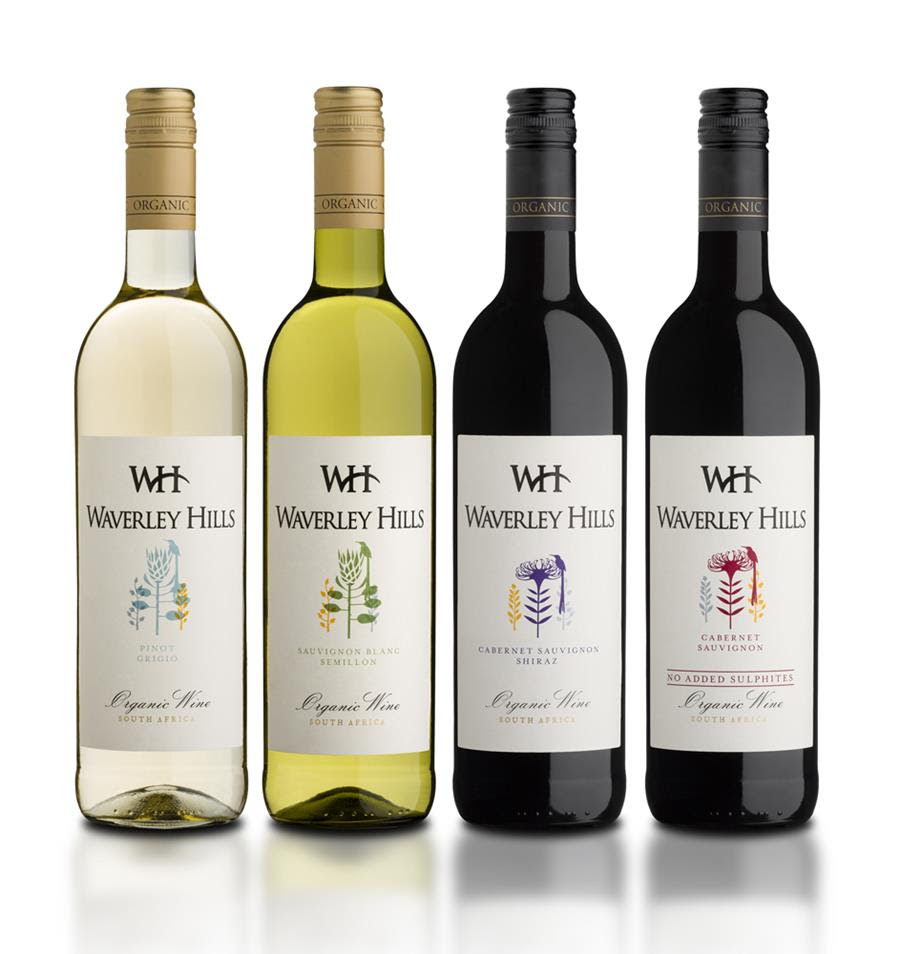 Waverley Hills Organic Wine And Eco-Approach Enjoys New Gleam With Sterling Label Re-Design photo