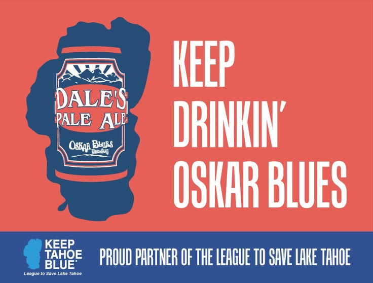 Oskar Blues Announces Partnership With Keep Tahoe Blue photo