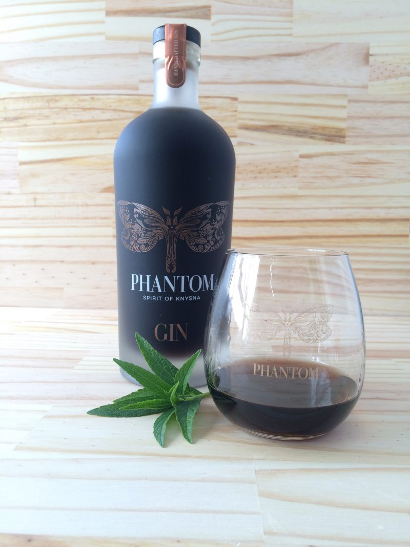 phantom gin e1528975531290 This mysterious new gin from the Knysna forest is jet black in colour