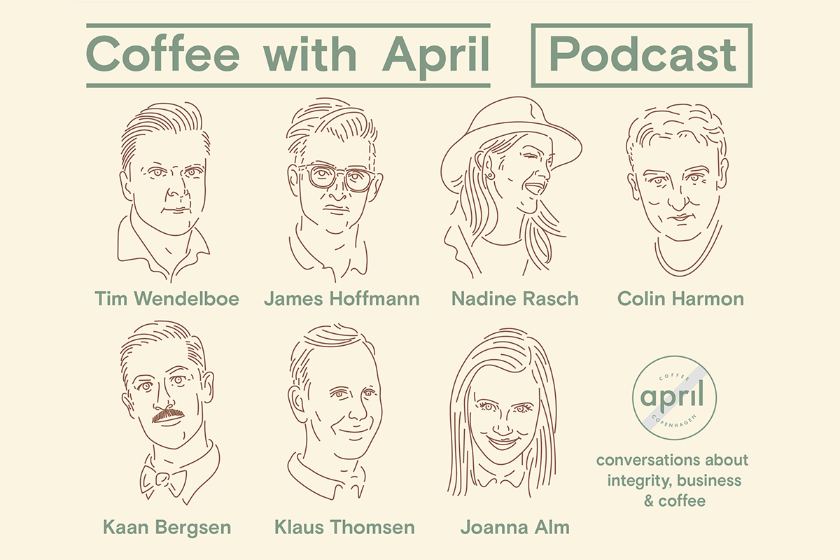 Coffee With April: Binge This New Podcast All About The Business Of Coffee photo