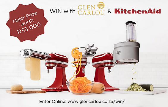 Win a R35 000 prize with Glen Carlou and KitchenAid! photo