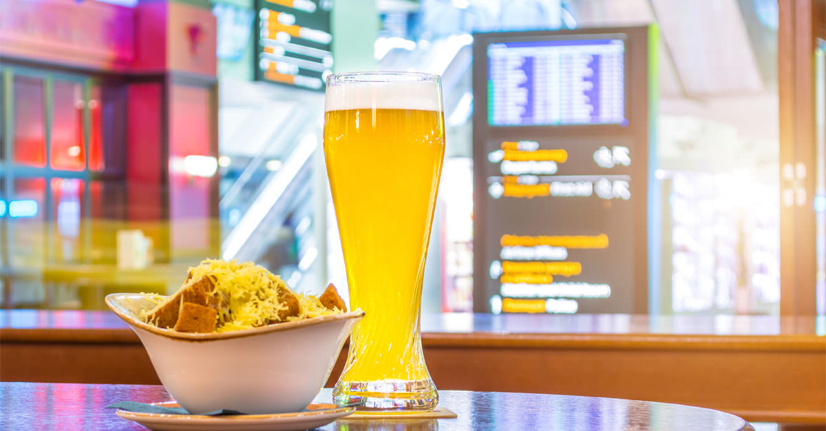Ryanair Wants To Ban Morning Drinking In Airports photo