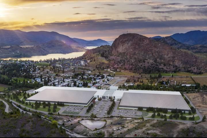 Could A Mega Marijuana Production Facility Revive A Small Okanagan Town? photo