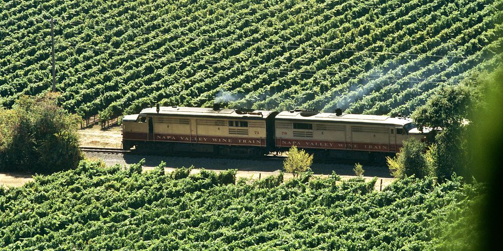 Napa Valley introduces the Hop Train, a beer-laden journey through California wine country. photo