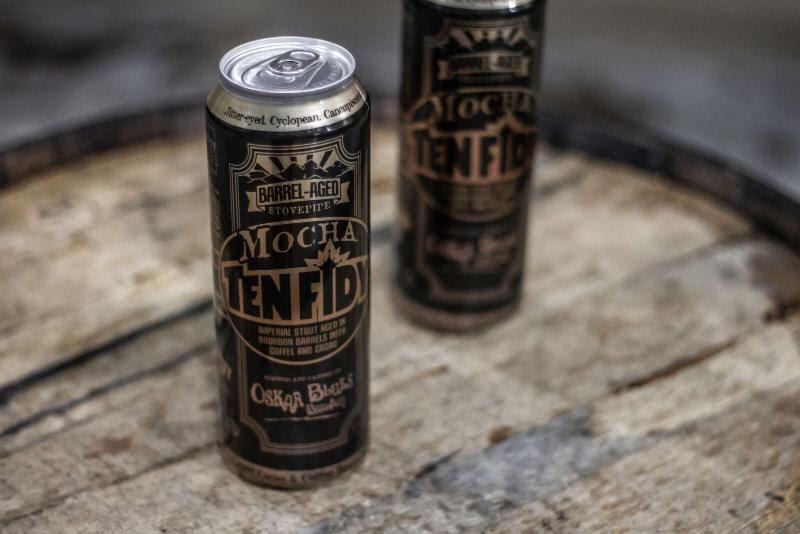 Oskar Blues Brewery Releases Bourbon Barrel-aged Mocha Ten Fidy Imperial Stout photo