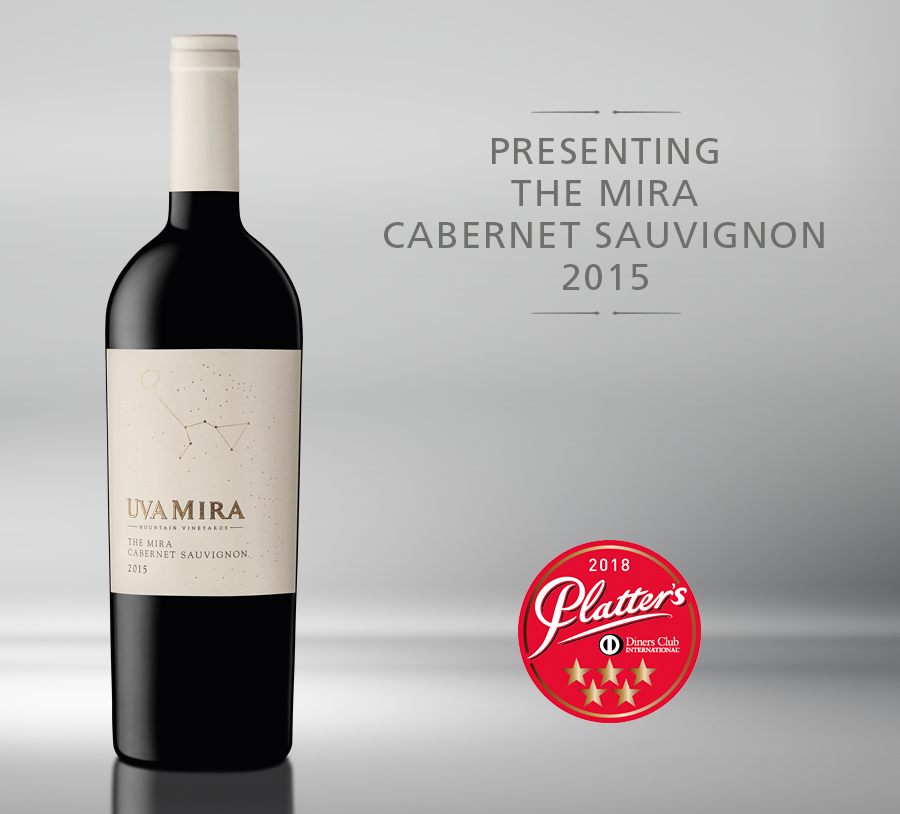 Uva Mira releases The Mira Cabernet Sauvignon 2015 photo