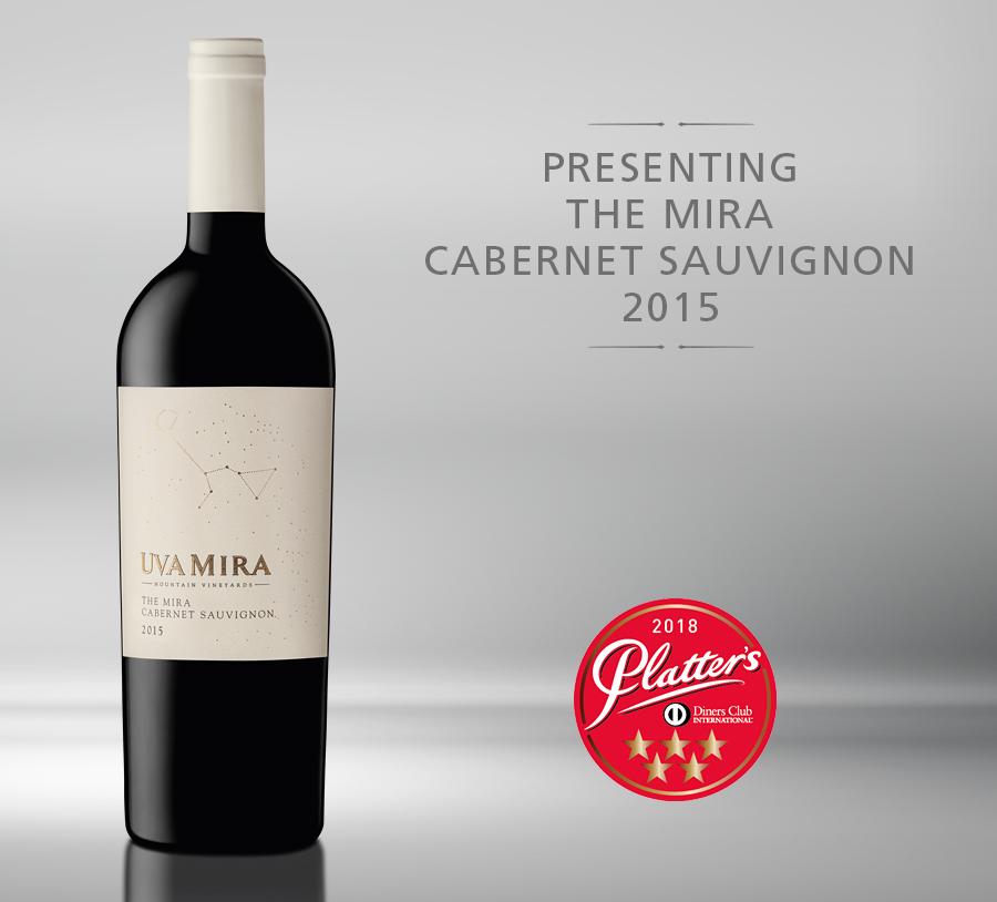Uva Mira releases The Mira Cabernet Sauvignon 2015 photo