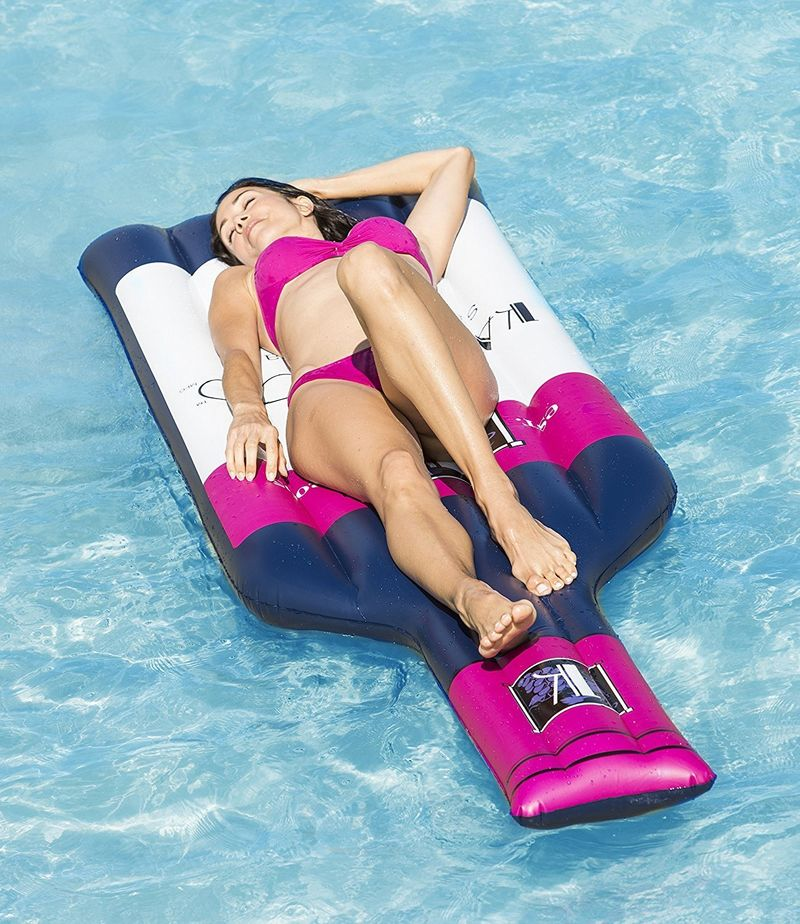 These Wine Pool Floats Are A Must-Have Boozy Summer Accessory photo