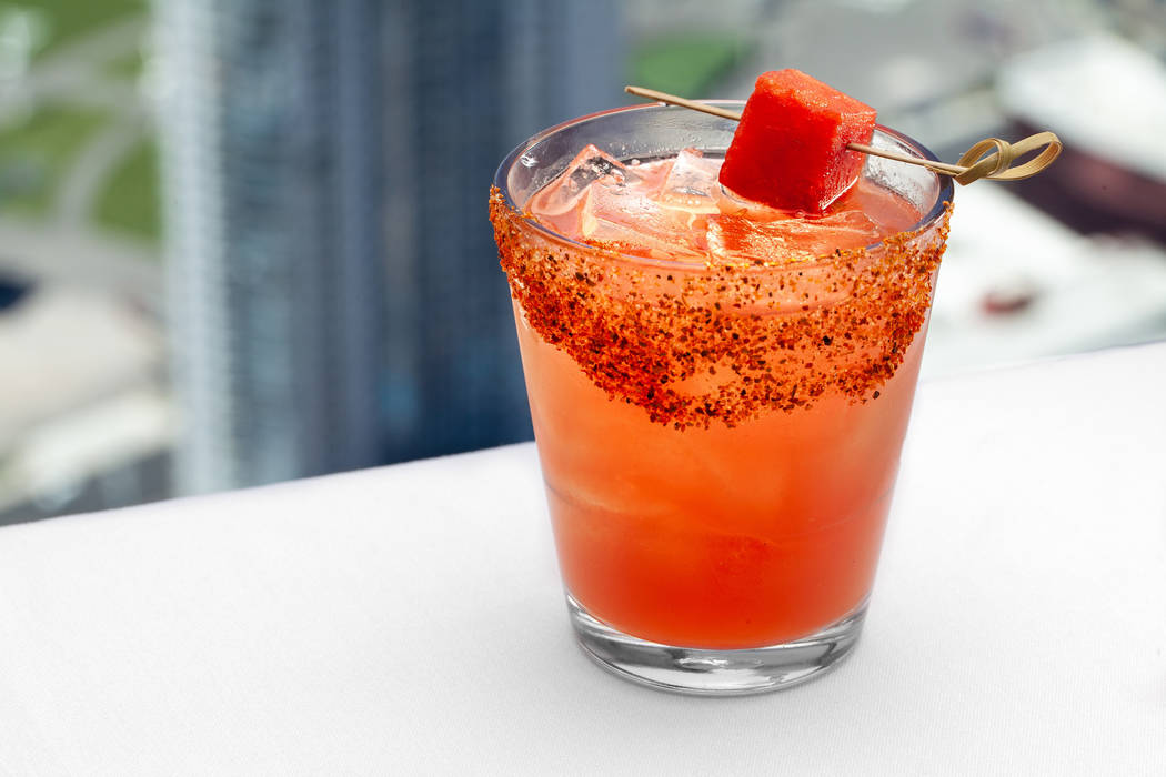 Learn To Make The Stratosphere's Moon And Stars Cocktail photo