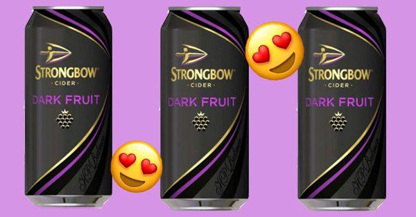 Strongbow Launch New Dark Fruit Flavoured Cider Ice Cream photo