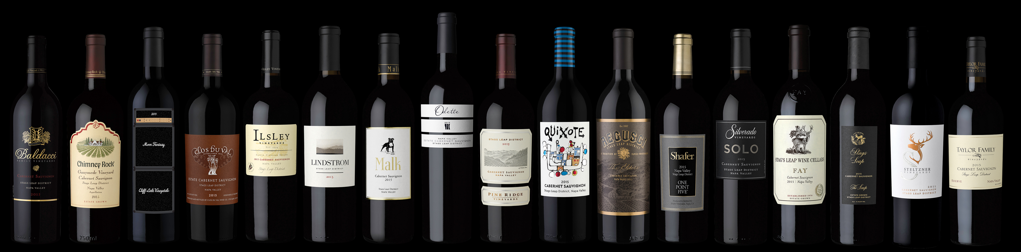 A Rare Opportunity To Obtain A Set Of 17 Limited Release 2015 Cabernet photo