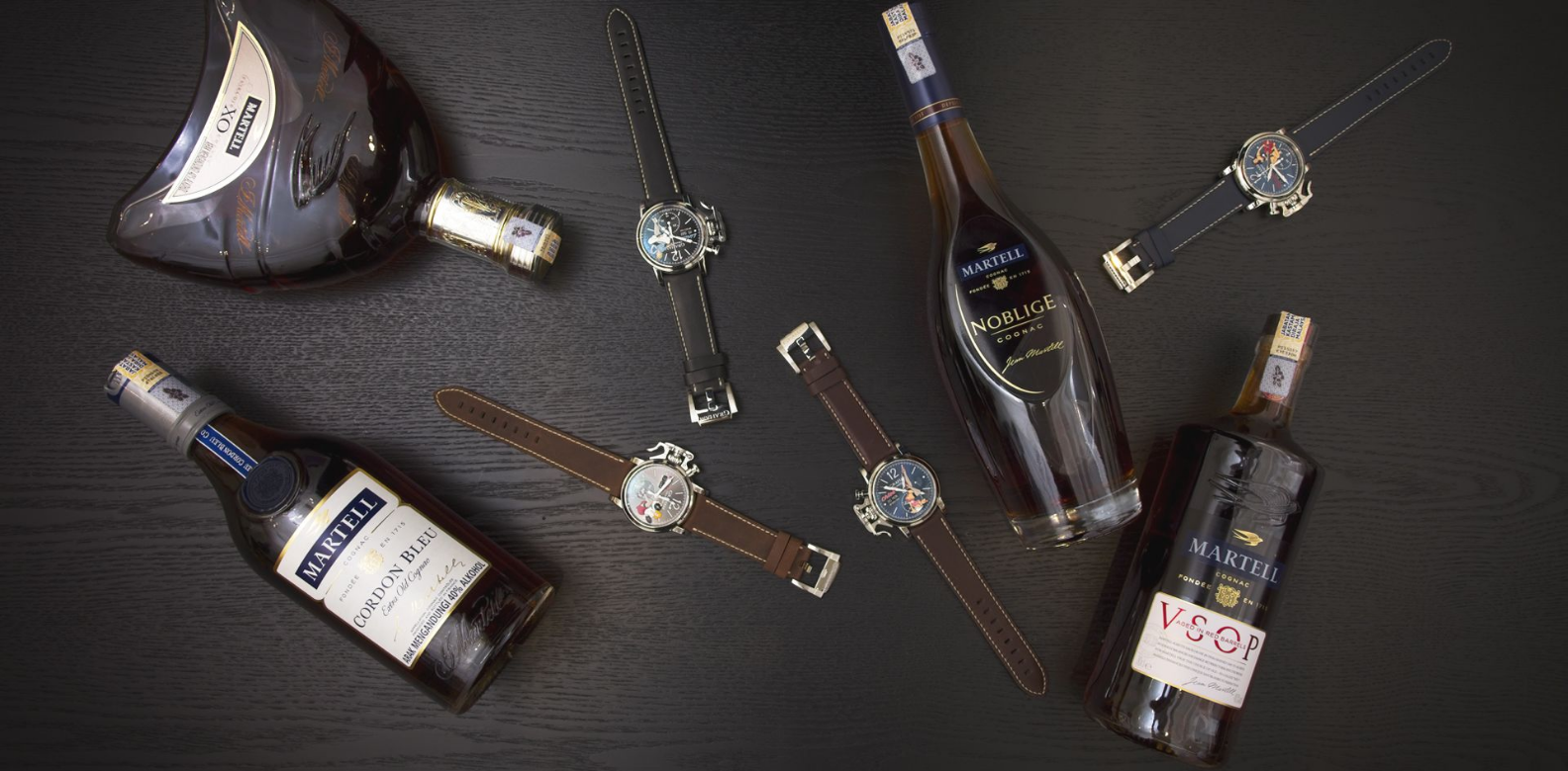 Indulge In The Unusual Pairing Of Graham Watches And Martell Cognac photo