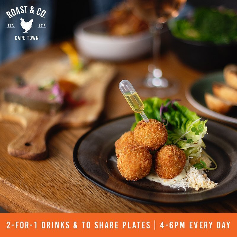 2 for 1 drinks and to-share plates photo