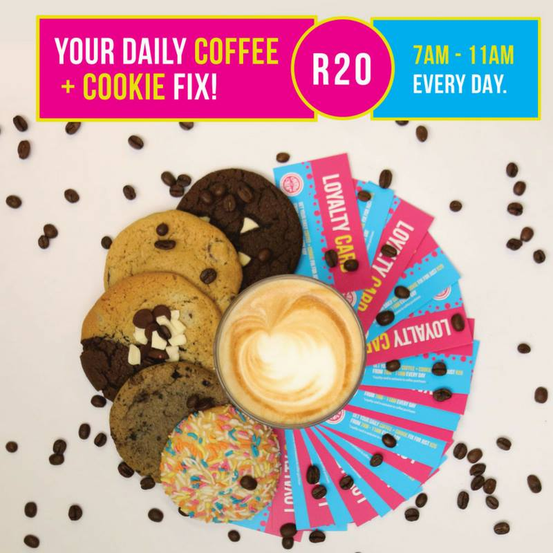 Coffee and Cookie special for R20 photo