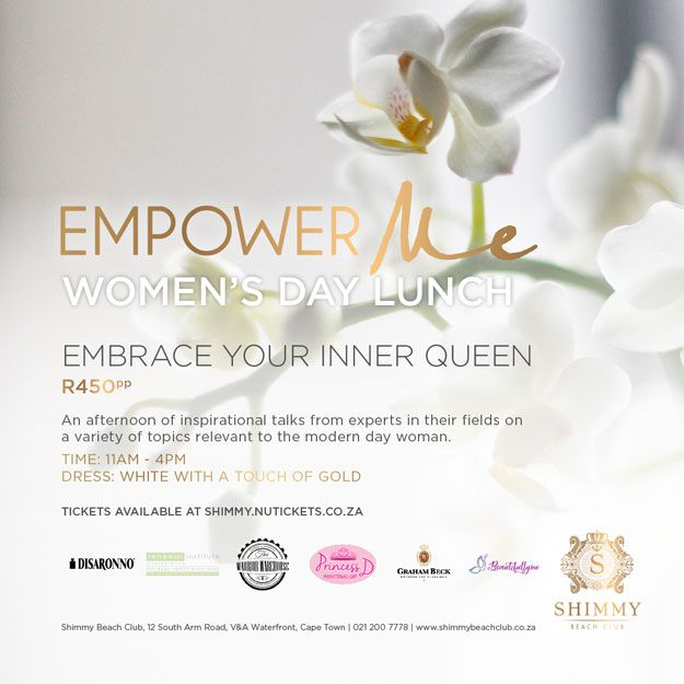Celebrate Women's Day With Empower Me And Shimmy Beach Club photo