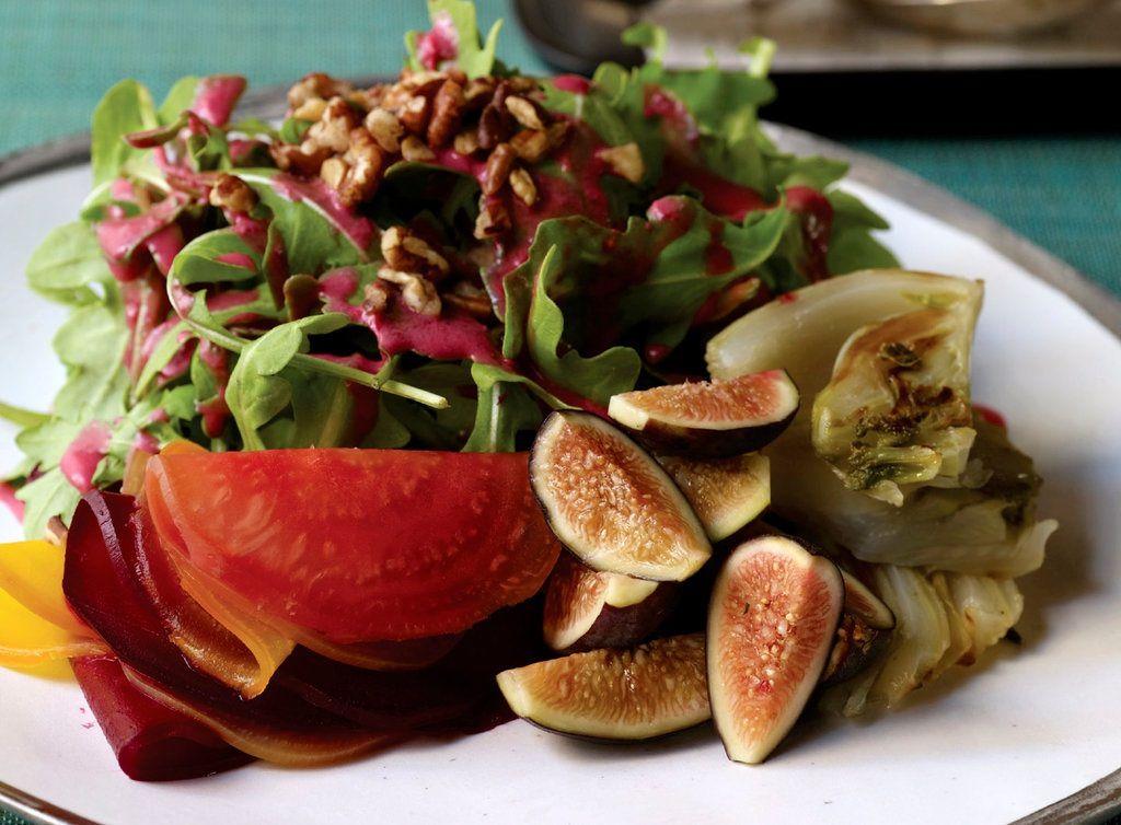 #greenmondaysa: Beet, Fennel And Fig Salad photo
