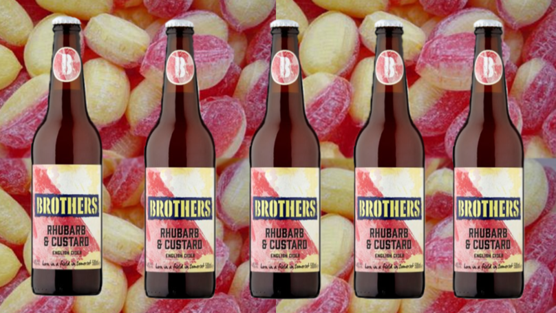 Rhubarb And Custard Brothers Cider Is Back, And They're On Offer In Tesco photo