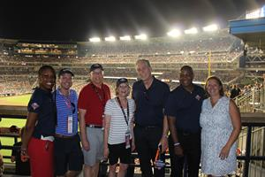 Major League Baseball, Budweiser And Team Coalition Encouraged Fans To Drink Responsibly At The 89th Mlb All-star Week photo