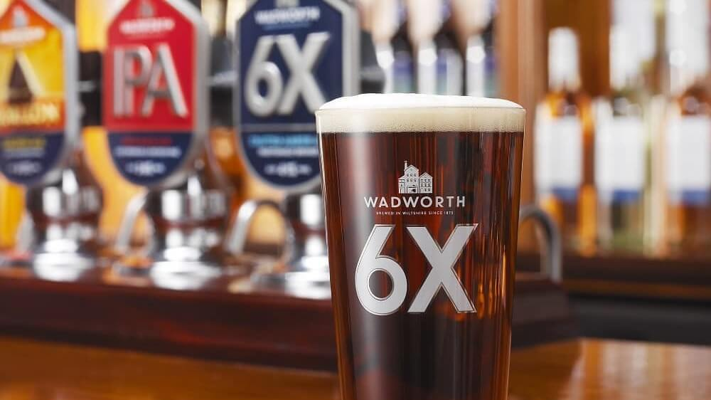 100-year-old Wadworth Brewery Launches Vegan Version Of Award-winning Gluten-free Beer '6x Gold' Beer photo