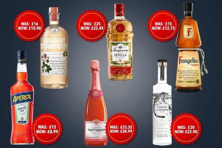 Amazon Prime Day 2018: Best Alcohol And Spirits Deals Including Tanqueray No. Ten Gin And Absolut Vodka photo