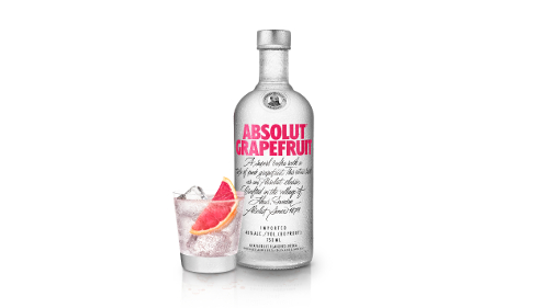 Absolut Grapefruit Flavored Vodka photo