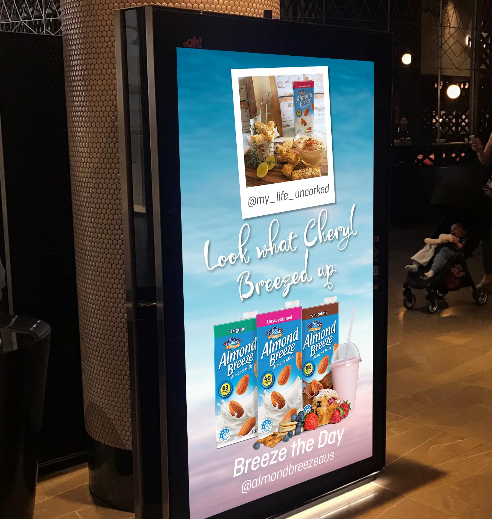 Almond Breeze Showcases Tastiest User-generated Content In Ooh Campaign Via Daylight Agency photo