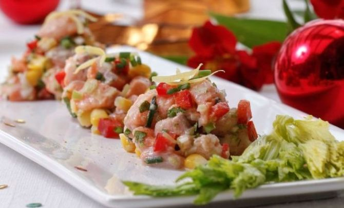 Feasting on Ceviche at Home photo