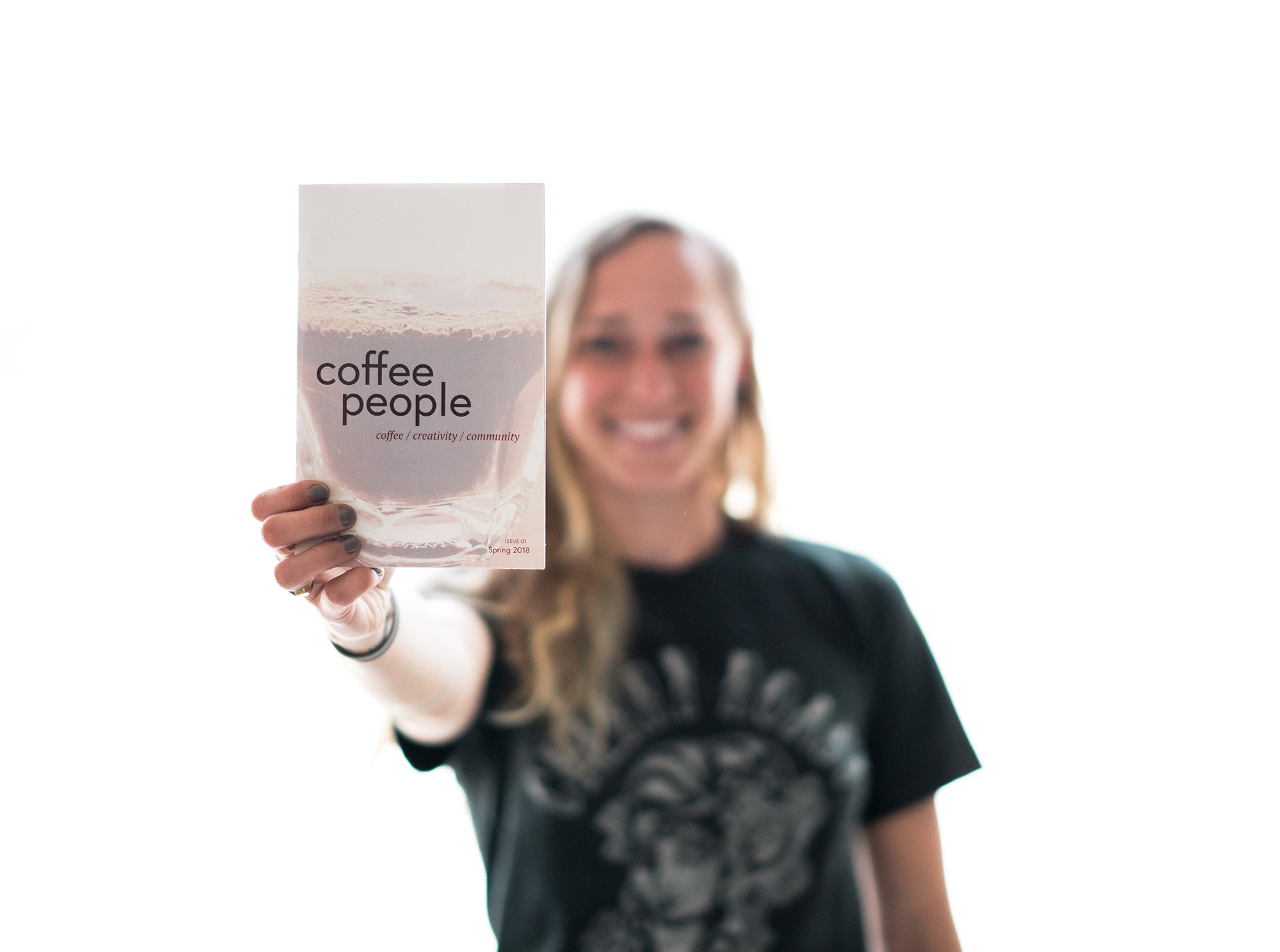 Coffee People: A Zine By, For, And About Coffee People photo