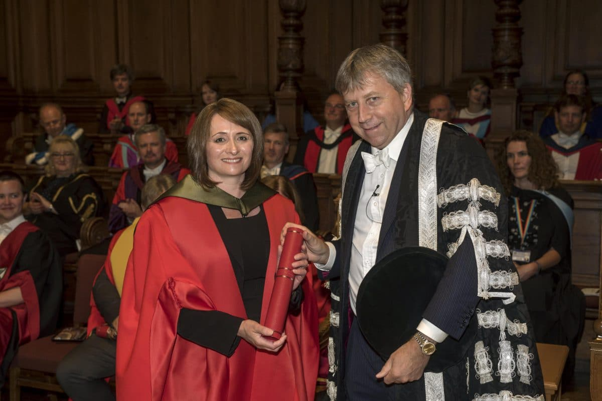Master Blender Rachel Barrie Receives Honorary Doctorate From University Of Edinburgh photo