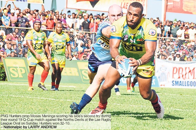 Hunters Reign In Lae photo
