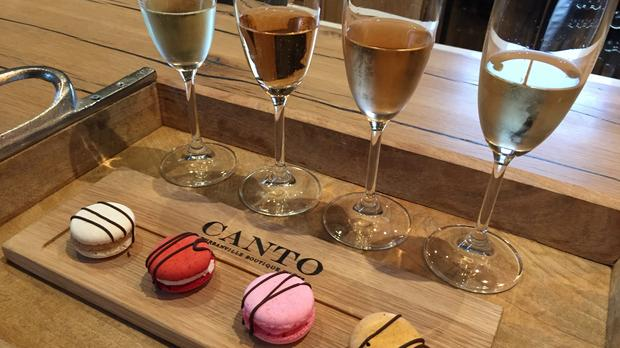 Watch: This Wine Pairs Well With Macarons photo