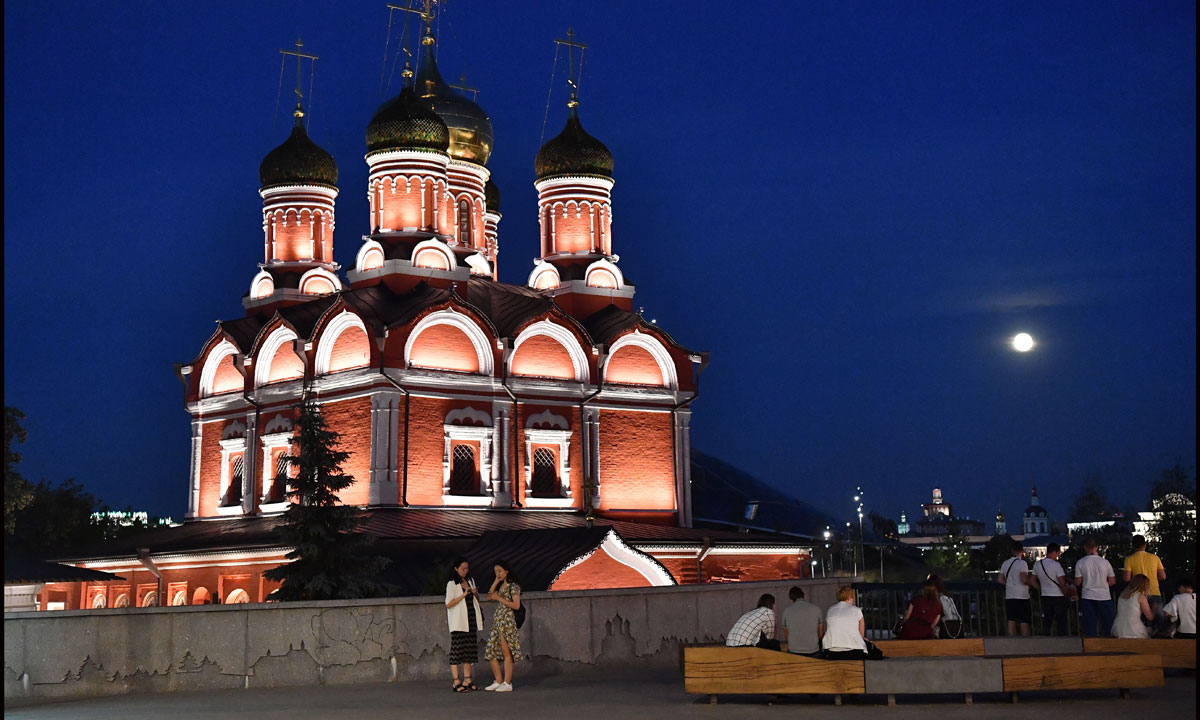 Modern-day Moscow Is Full Of Surprises photo
