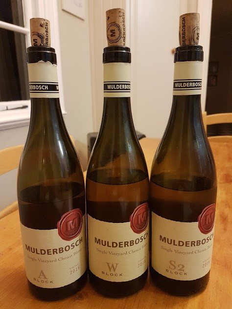 Mulderbosch Single Vineyard Chenin Blanc Range photo