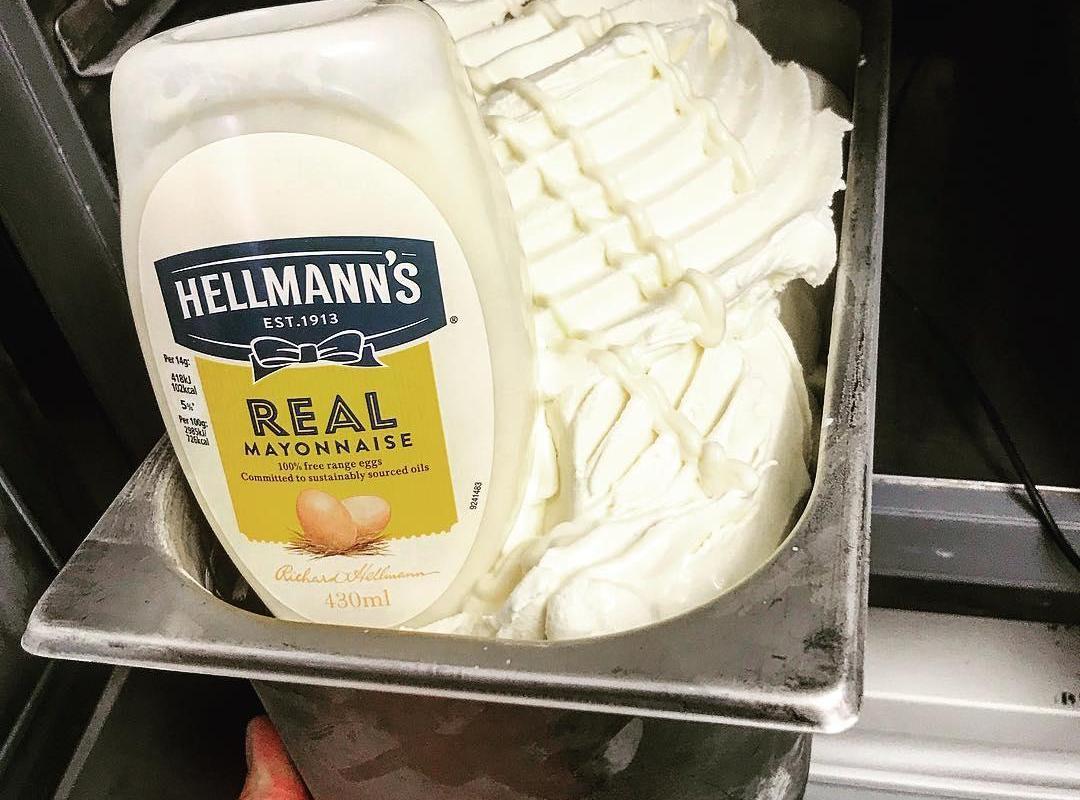Mayonnaise Ice Cream Is Dividing The Internet photo