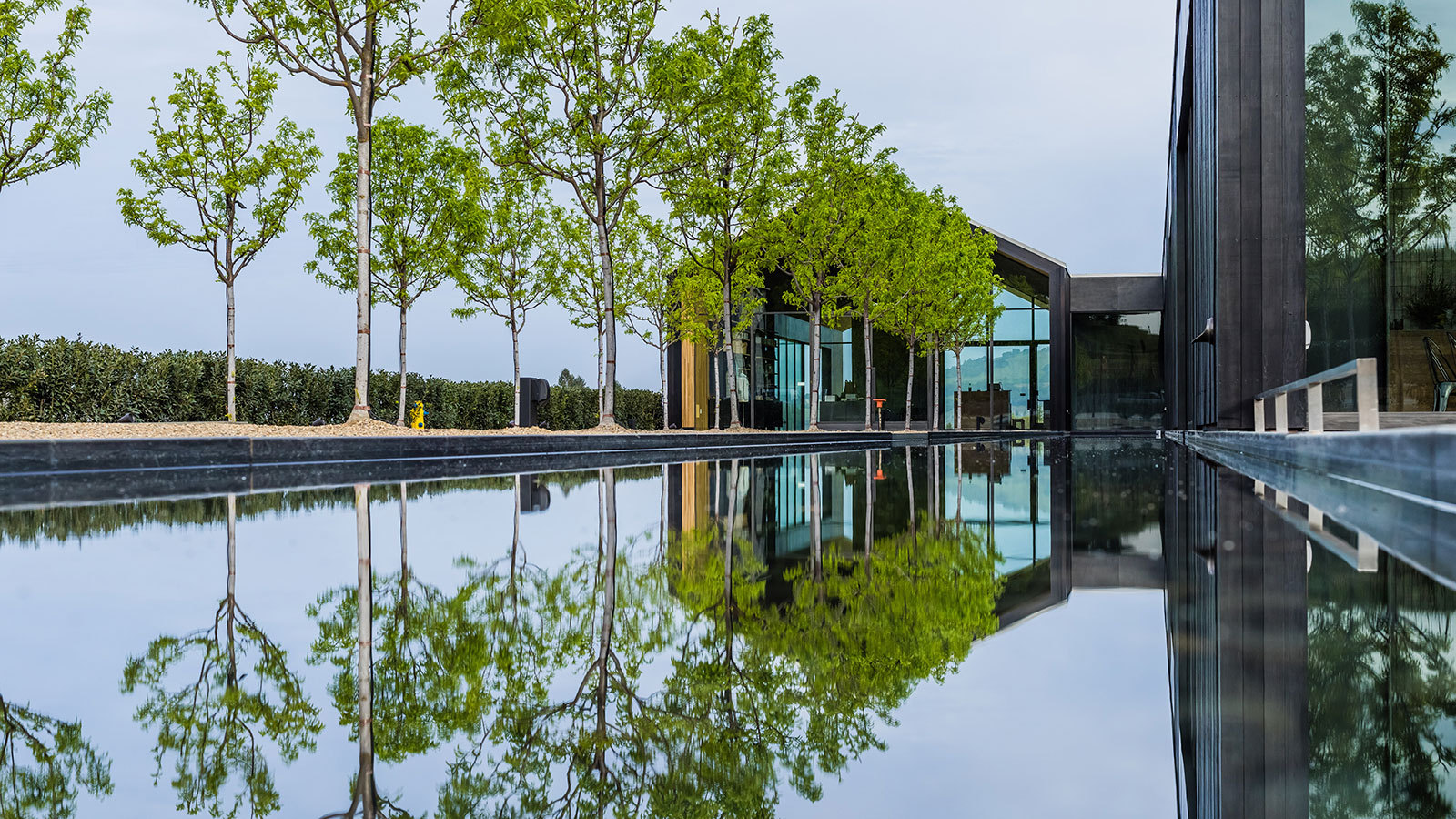 Silver Oak Builds First New Winery To Earn Leed Platinum Sustainability Certification photo