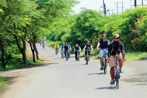 Ride Your Way Through Three Vineyards In Nashik Before Your A Tasting Session photo