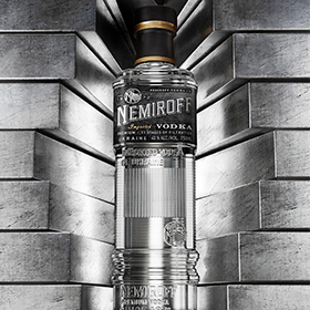Nemiroff Vodka Unveils New ?masculine? Design photo