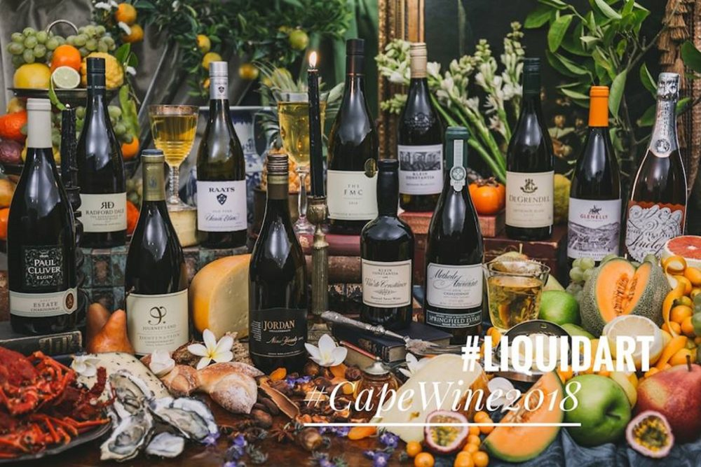 Introducing PIWOSA'S #LiquidArt Programme during Cape Wine 2018 photo