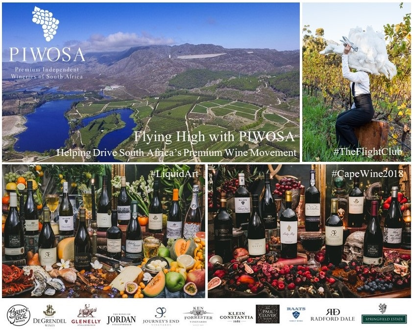 Local Sommeliers and Wine Professionals invited to Fly High with PIWOSA at Cape Wine 2018 photo