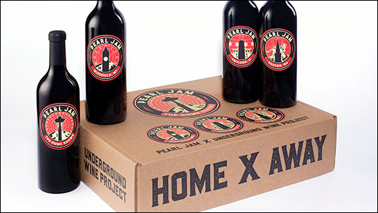Grunge band Pearl Jam launches new charity wine to raise money for the homeless photo