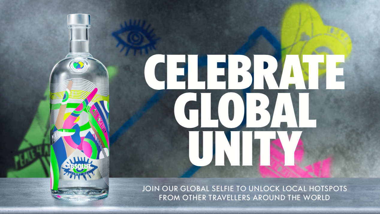 Absolut Launches Limited Edition Vodka Bottle To Celebrate Global Unity photo